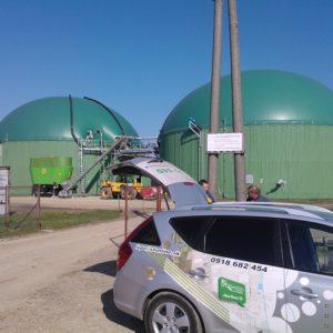 21-Bioplynová stanica ILKE Kráľ. Chlmec 2013